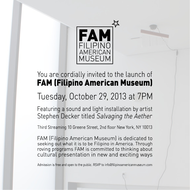 INAUGURAL EVENT FEATURING STEPHEN DECKER